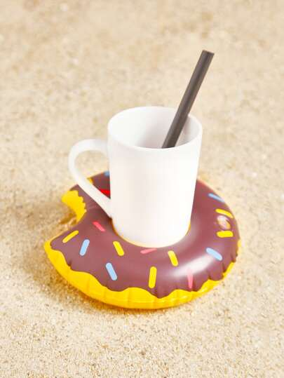 Doughnut Inflatable Beverage Holder