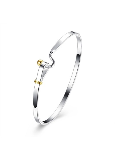 Two Tone Plated Bangle