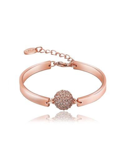 Rhinestone Ball Embellished Bracelet