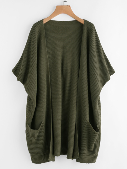Pocket Front Batwing Cardigan