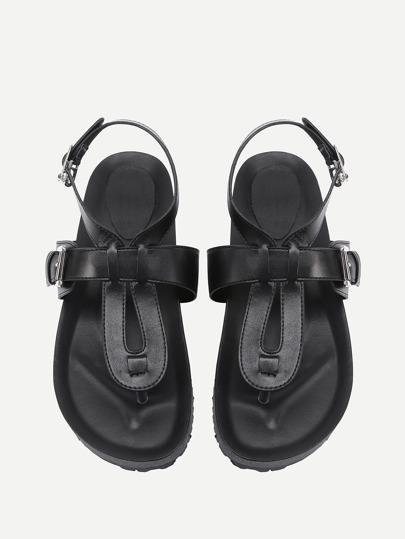 Sandales en PU