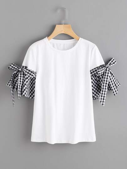 T-shirt a quadretti