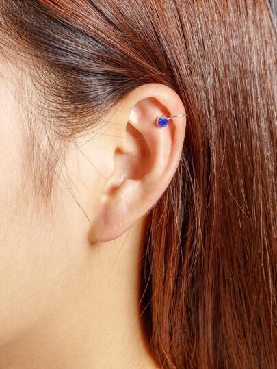 Set di orecchini con strass