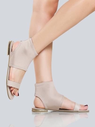 Lycra Stretch Sandals NUDE