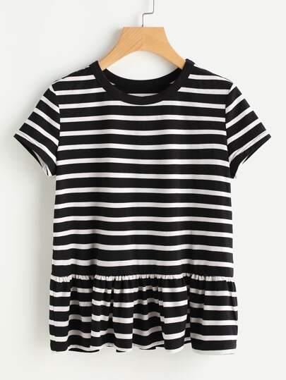 T-shirt a strisce