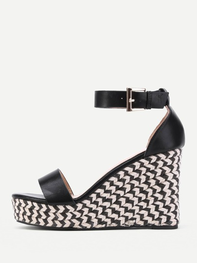 Ankle Strap Wedges Sandals