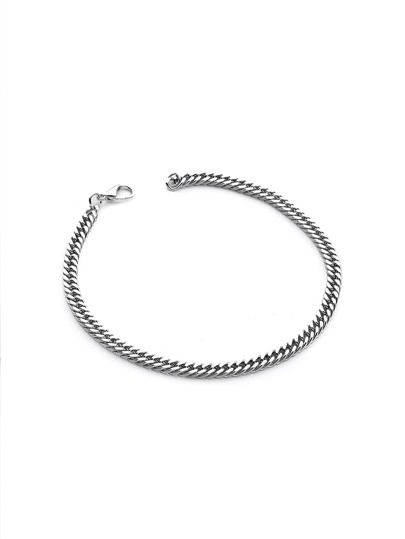 Brazalete simple con cadena