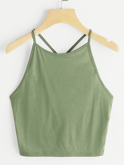 Criss Cross Cami Top