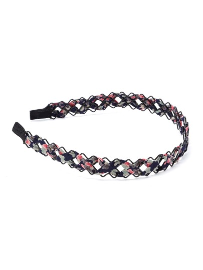 Woven Stirnband mit Calicomuster