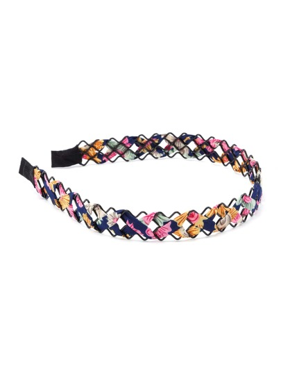 Woven Stirnband mit Muster