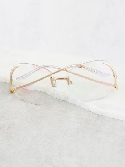 Aviator Drop Glasses GOLD
