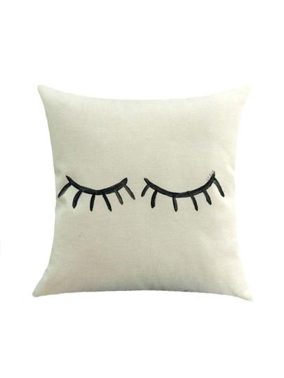 Funda de almohada básica con estampado