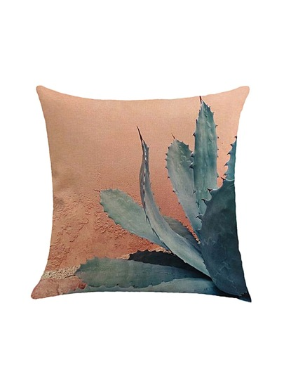 Cactus Print Pillowcase Cover