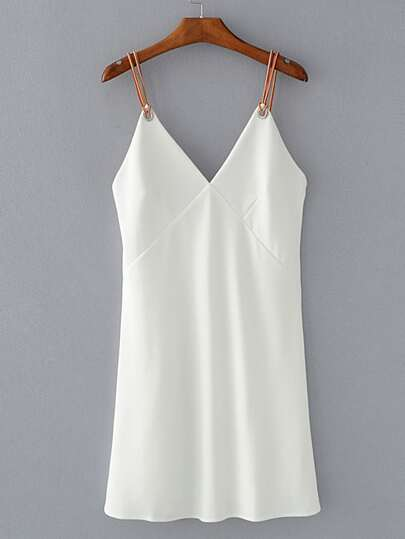 Cami Dress With Ring Detail