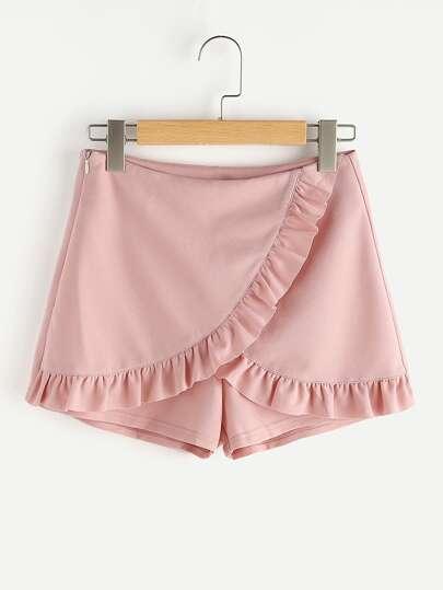 Модные шорты-юбка