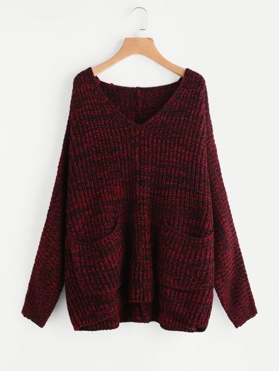 Maglione con tasca
