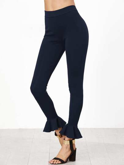 Leggings con volant