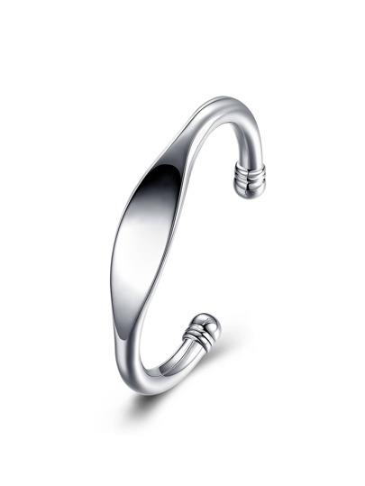 Geometric Design Metal Cuff