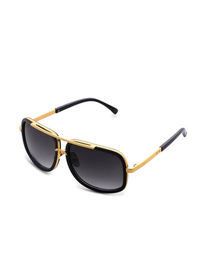Contrast Top Bar Sunglasses