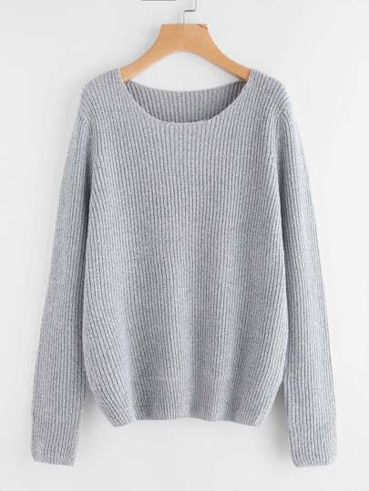 Pull-over ample en tricot
