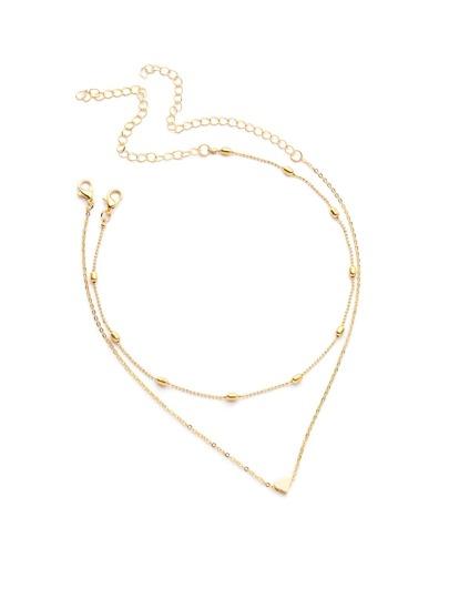 Модное элегантное ожерелье