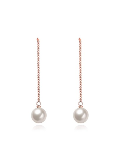 Fake Pearl Earrings