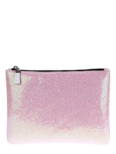 Zipper Glitter Makeup Bag