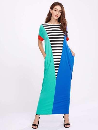 فستان قص وخياطة شرنقة