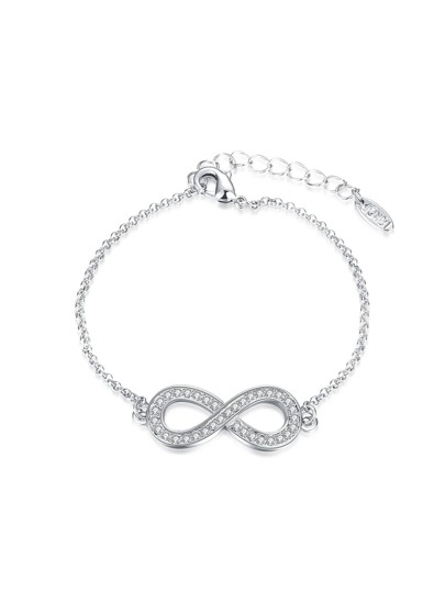 Figure 8 Design Rhinestone Chain Bracelet