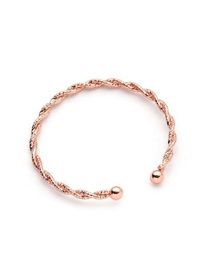 Bracelet design tissé plaqué