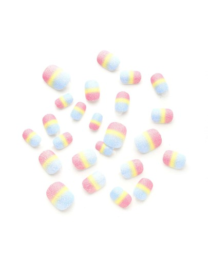 Ombre Glitter False Nail 24pcs