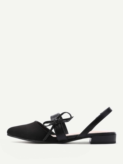 Модные туфли с бантом