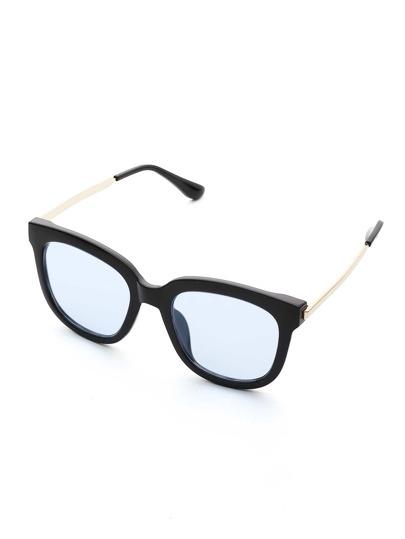 Contrast Frame Tint Lens Sunglasses