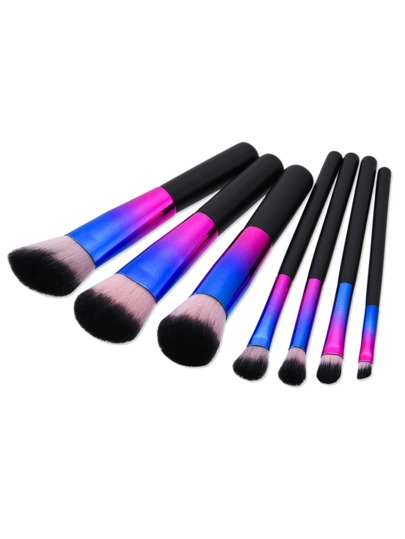 Ombre Cosmetic Brush 7pcs