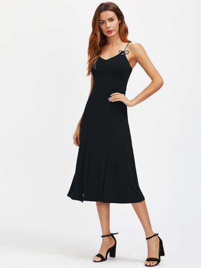 Cami Straps Midi Dress
