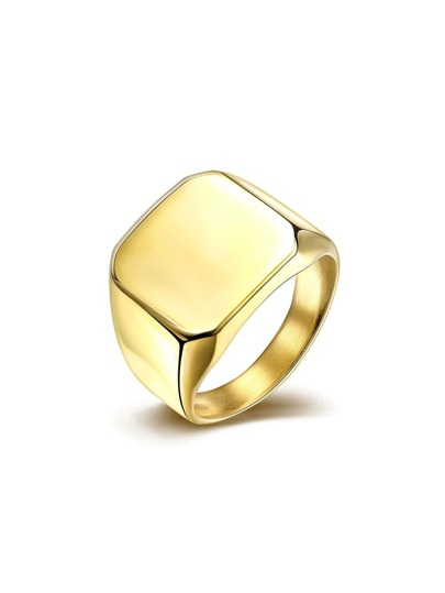 Geometric Metal Ring