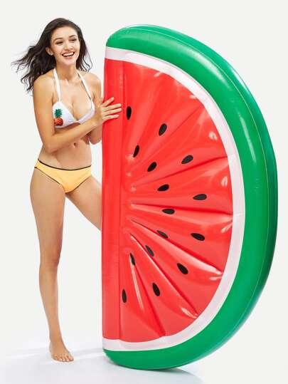 Flotteur de piscine gonflable en forme du melon de l\'eau