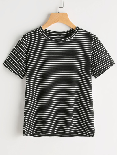 T-shirt di Pinstripe