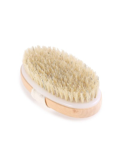 Cepillo de ducha en forma ovalada
