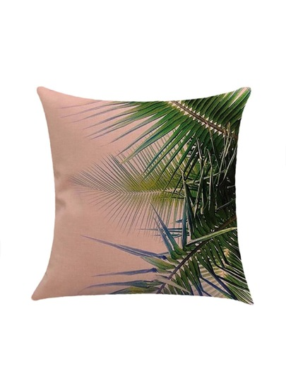 Tropical Print Pillowcase Cover