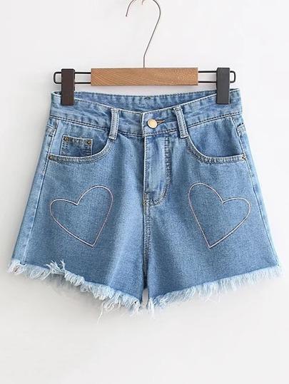 Embroidered Check Asymmetric Frill Trim Self Tie Skirt