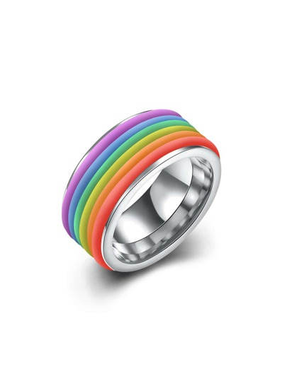 Multicolor Metal Ring