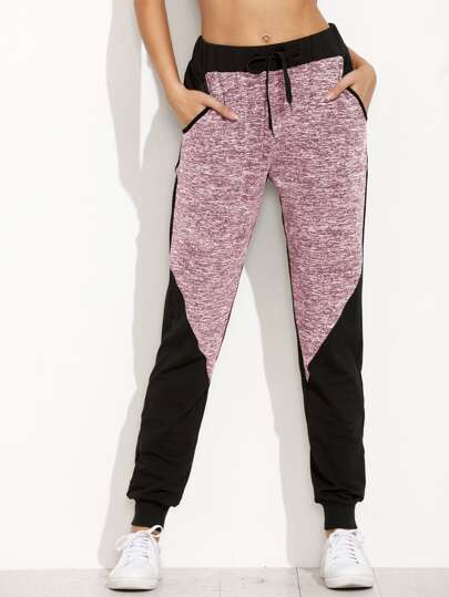 Two Tone Space Dye Sweatpants