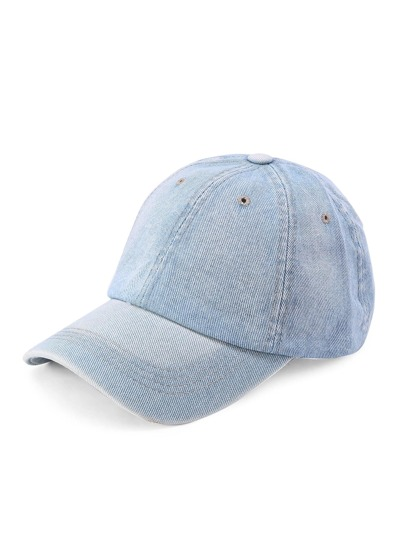 Casquette de base-ball en denim
