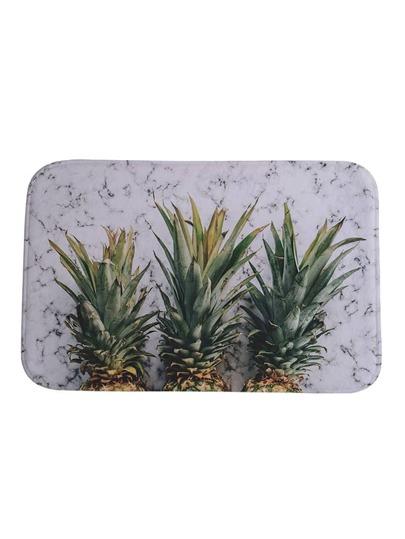 Tapis imprimé à l\'ananas