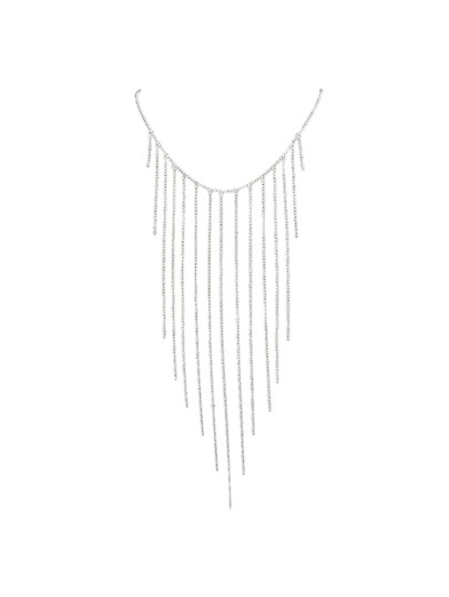 Silver Color Waist Chain Fringed Sex Body Chain