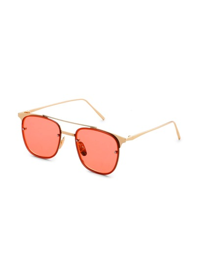 Top Bar Metal Frame Sunglasses