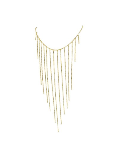 Gold Color Waist Chain Fringed Sex Body Chain