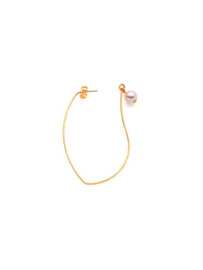 Faux Pearl Decorated Earring 1pc
