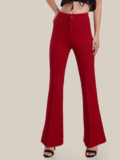 Tailored Flared Pants